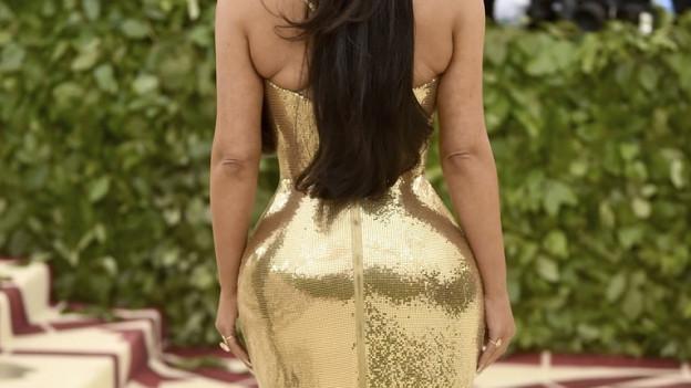 Nichts ist nach aktuellem Ideal schöner als ein grosser, praller Hintern à la Kim Kardashian