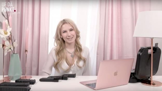 Camille Lothe (Junge SVP Zürich) bekam nach ihrem Video über das EU-Waffenrecht einen Hasskommentar