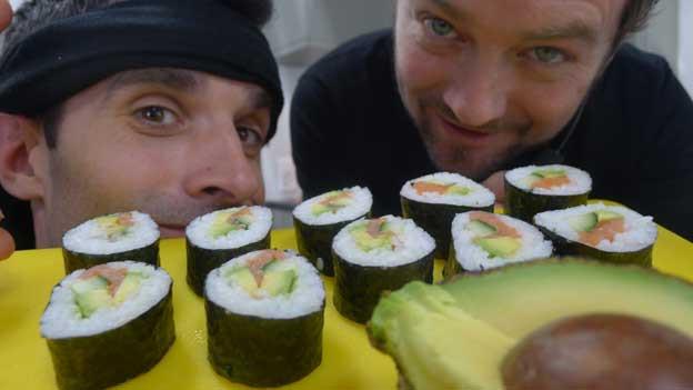 Zen und Sushi, Philippe Gerber und Jann Hoffmann.
