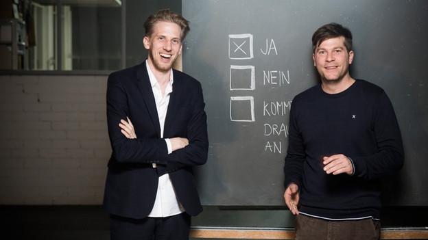 Autorenduo: Mikael Krogerus & Roman Tschäppeler