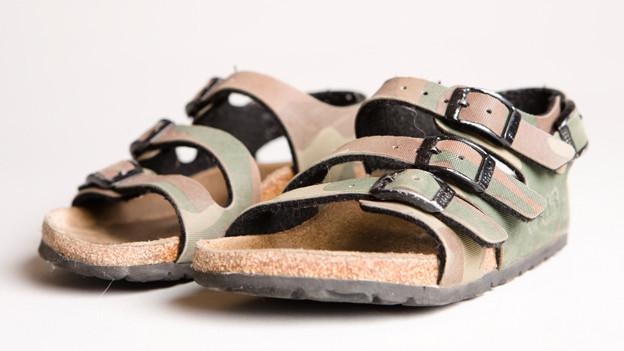Die Sandale.