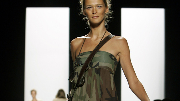 Camouflage an der New York Fashion Week.