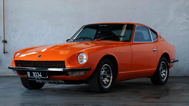 Gefällt dem SRF 3 Stilsheriff: Datsun 240 Z Fairlady.