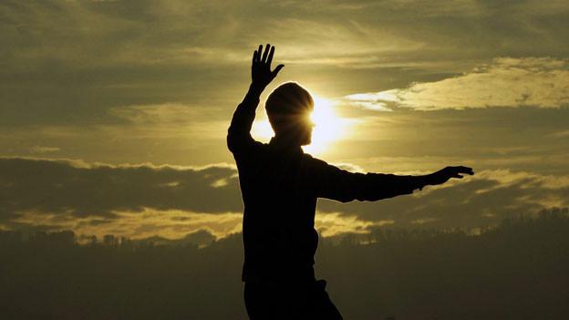 Meditation sorgt für Entspannung und Gleichgewicht.