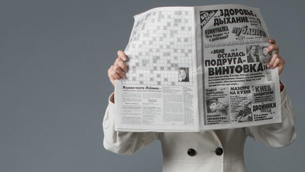 Es stand in der Zeitung.
