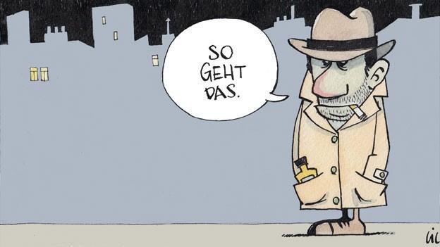Cartoon Philip Maloney.
