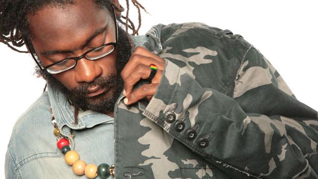 Der jamaikanische Roots Reggae Star Tarrus Riley.