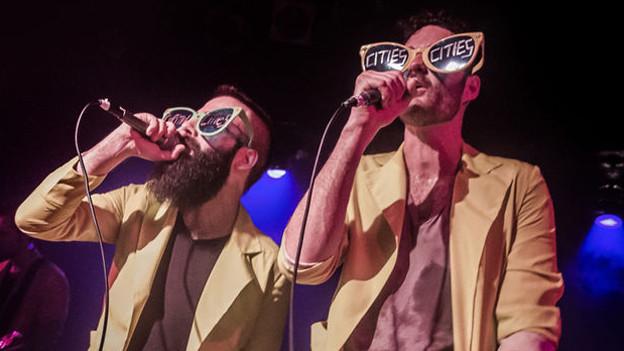 Reiht sich neu bei den 10 meistverkauften Songs der Woche ein: Das Duo Capital Cities aus Los Angeles