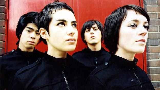 Ihr Debutalbum «604» überzeugt mit seiner Schlichtheit: Ladytron.