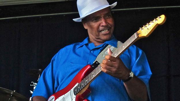 Ist mit seinem Song SOUL SURVIVOR für den Song des Jahres nominiert: Sänger und Gitarrist Johnny Rawls.
