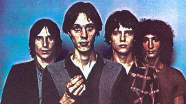 Die Band Television auf dem Cover von «Marquee Moon»