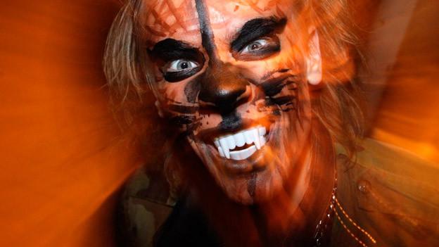 Halloween-Maske