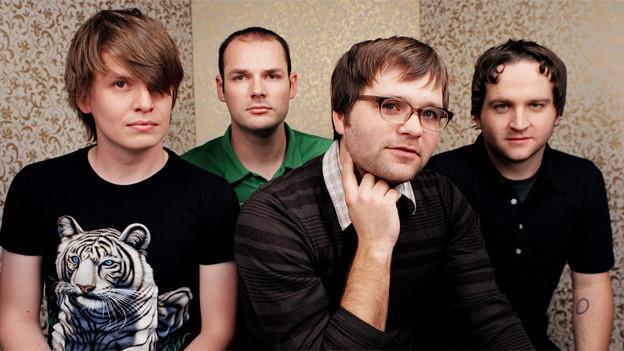 Diese US-amerikanische Indierock-Band nennt sich: Leichenwagen für einen Schnüggel («Death Cab For Cutie»).