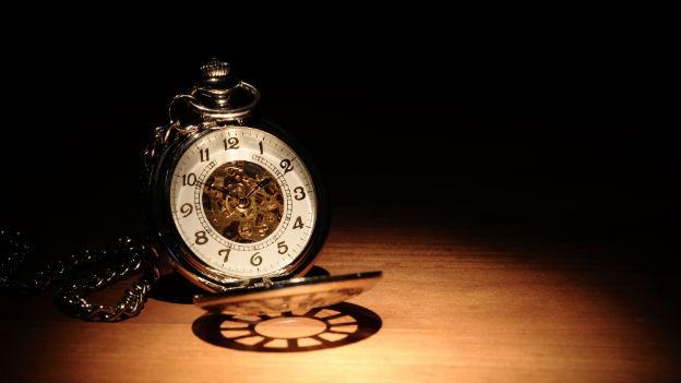 Eine alte Taschenuhr