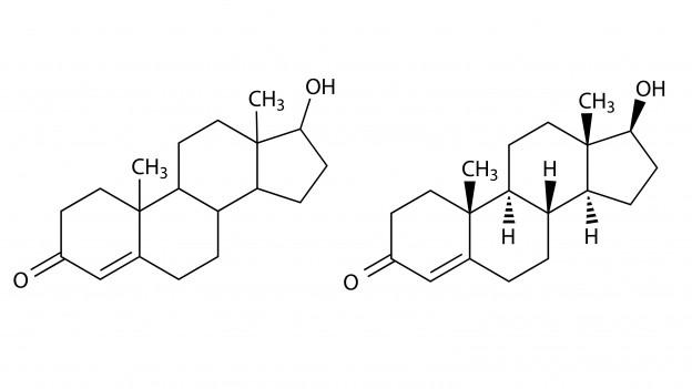 Chemische Verbindung von Testosteron