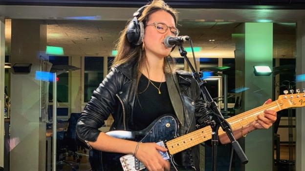 Live-Session! Veronica Fusaro und ihre neue EP «Sunkissed» im punkt CH