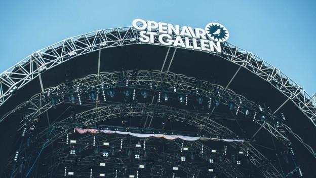 Bald in neuem Gewand: das Openair St. Gallen