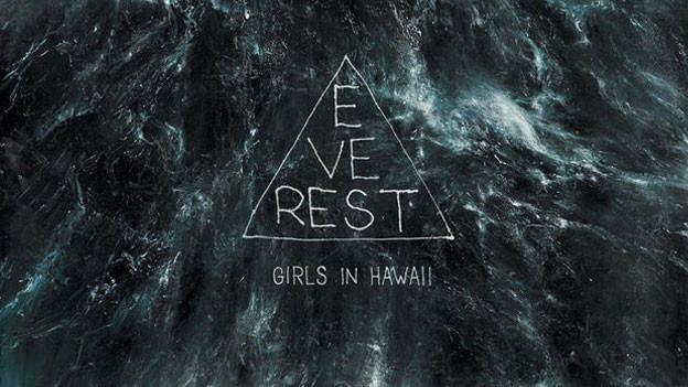 """Das Albumcover """"Everest"""" von Girls In Hawaii."""