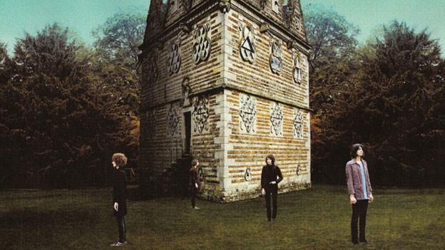 """Temples mit ihrem Album """"Sun Structures"""""""