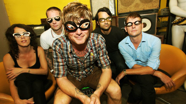 Die US-Band Thee Oh Sees.