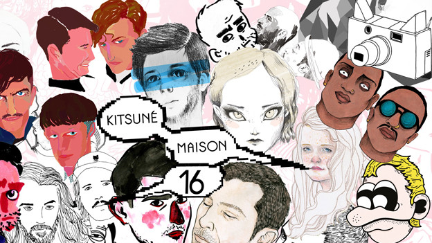 Albumcover «Kitsuné Maison: The Sweet Sixteen»