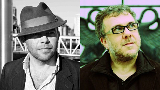 Mark Gardener (links) und Robin Guthrie.