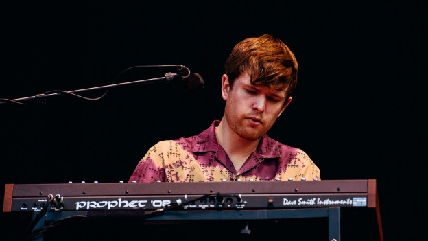 James Blake beim Lollapalooza 2016