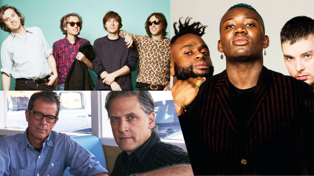 Young Fathers, Calexico & Phoenix