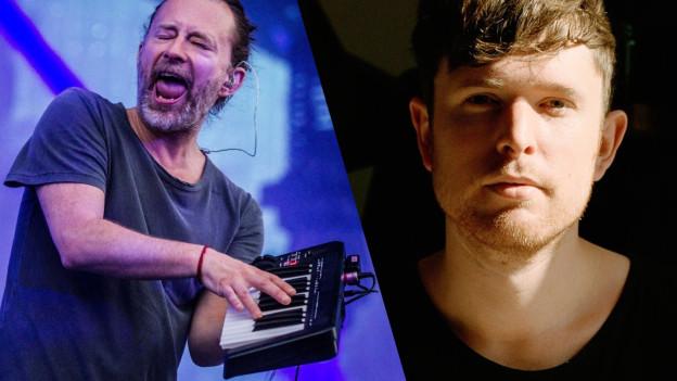 Thom Yorke und James Blake