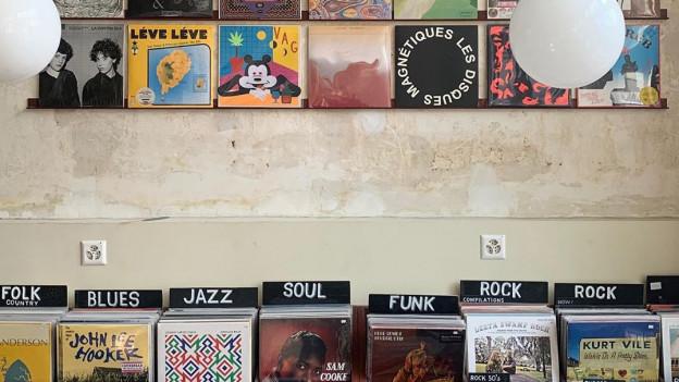 Musik aus allen Ländern und Stilen: die Auswahl im «Bongo Joe Records»