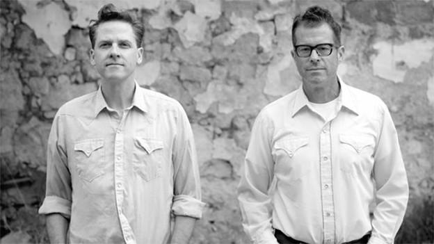 Joey Burns und John Convertino von Calexico.