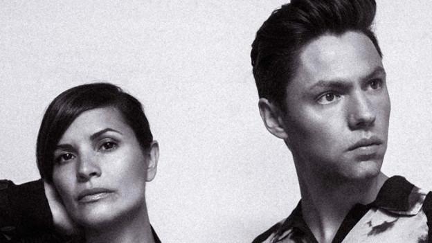 Daniela Sarda und Rico Baumann sind das Electro-Pop-Duo True