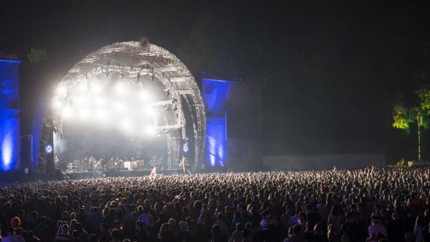 SRF 3 macht euch den Sommer zum Festival - kommendes Wochenende am OpenAir St. Gallen