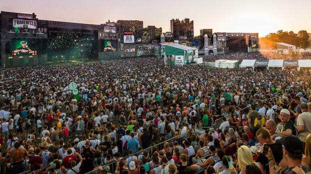 Das Openair Frauenfeld ist das grösste Hip-Hop-Festival Europas