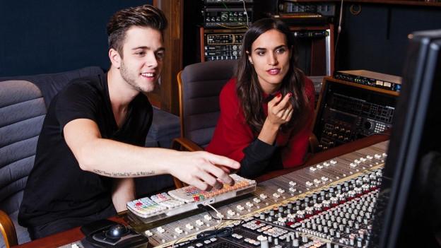 Lea Lu und Luca Hänni haben in 48 Stunden einen Song zusammen geschrieben