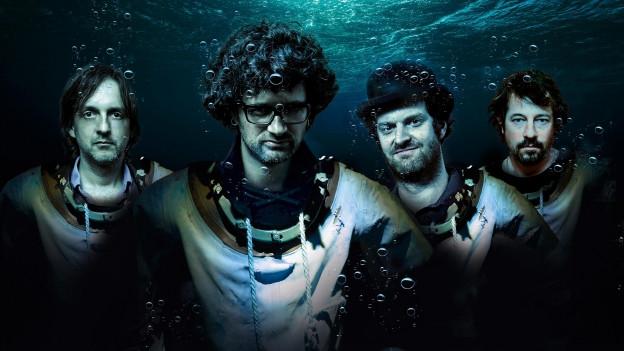 Deep Dive Dub heisst das neue Album der vier Innerschweizer
