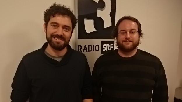 Michael Gysel (links) und Mike Sarbach von der Ostschweizer Band Frantic