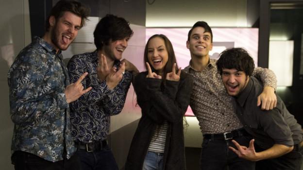 SRF 3 Best Talent November: Die Zürcher Rock-Band Pablo Infernal mit Hana Gadze