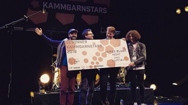 Kaufmann aus Chur sind die Sieger des «Kammgarnstars 2018» und dürfen am 11. August 2018 den letzten Festival-Tag am Stars In Town Festival eröffnen