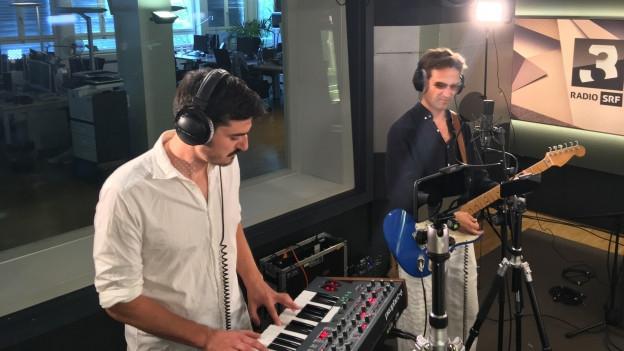 Tatum Rush performt live im SRF 3-Studio