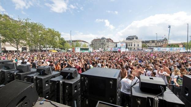 Auf der Swiss Innovation Stage treten ausschliesslich Schweizer Live-Acts auf
