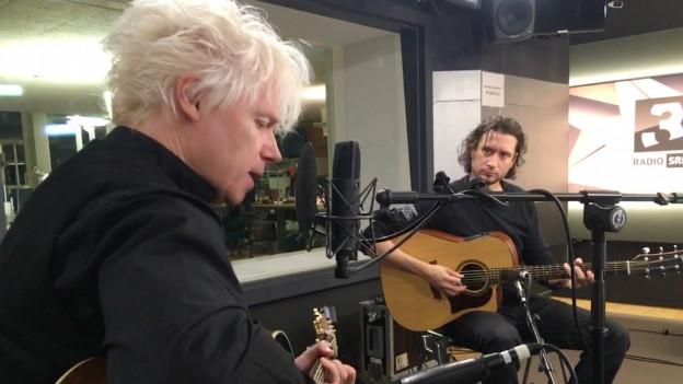 Michael Sele (links) und Ariel Rossi von The Beauty Of Gemina