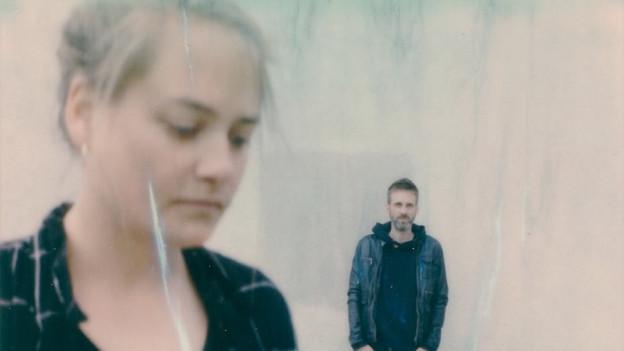 Emilie Zoé mit ihrem Schlagzeuger Nicolas Pittet