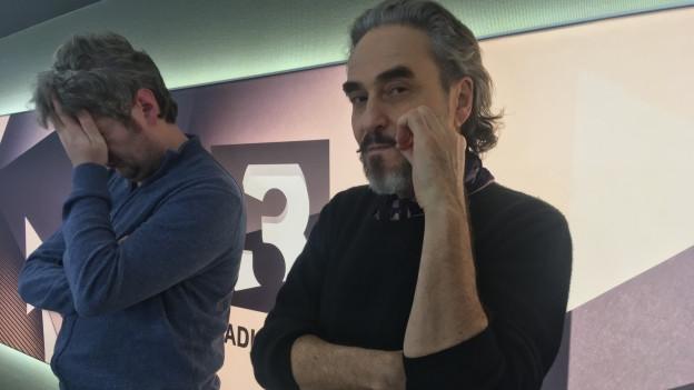 Stephan Eicher und Traktorkestar live bei SRF 3