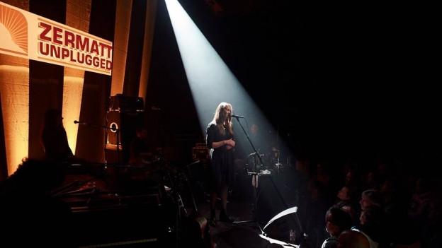 Sophie Hunger am Zermatt Unplugged Festival