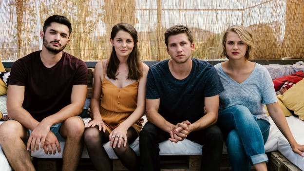 Sie würden auch als Band durchgehen, sind aber die vier Hauptdarsteller der Serie «Nr. 47»