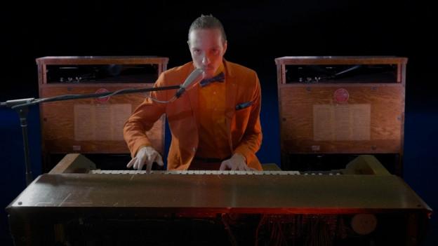 Nic Gyalson hat viel Liebe für die Orgel
