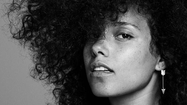 Alicia Keys total natürlich