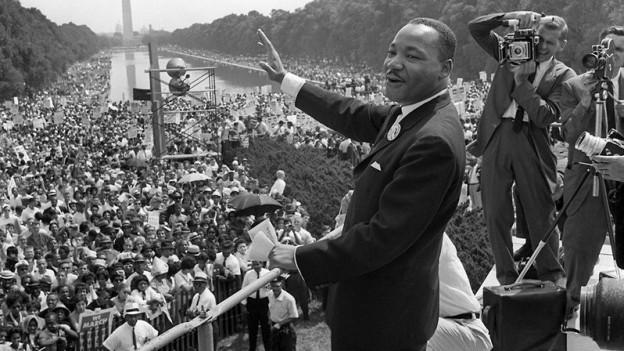 Er lässt bis heute Generationen träumen: Dr. Martin Luther King