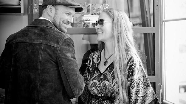 Layla Zoe und Henrik Freischlader